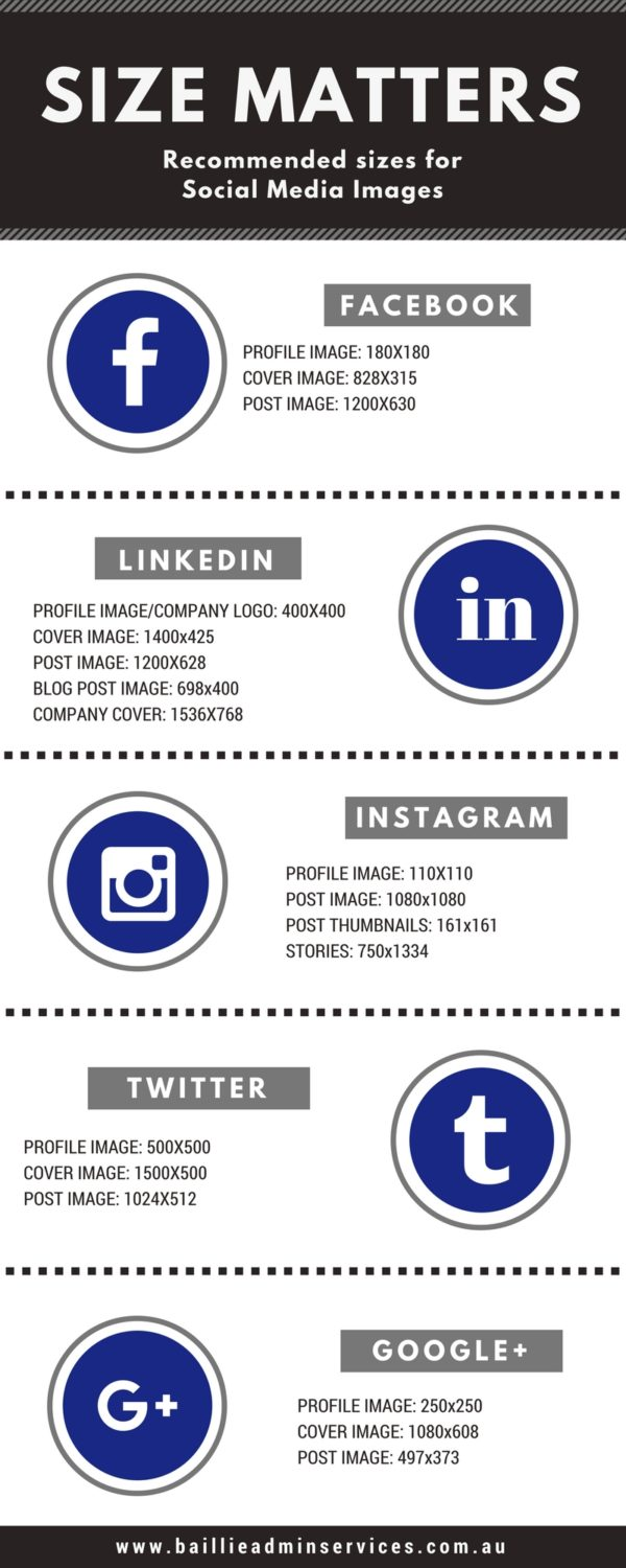 Social Media Visual Cheat Sheet